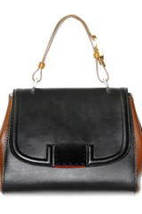 Fendi Bitextured Calfskin Silvana Top Handle - Lyst