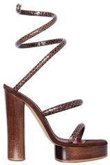 Marc Jacobs 130mm Python Print Sandals - Lyst