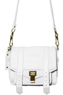 Proenza Schouler Ps1 Pouch Lux Lamb Shoulder Bag - Lyst