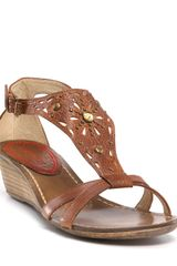 Miss Sixty Wedge Sandals - Lyst