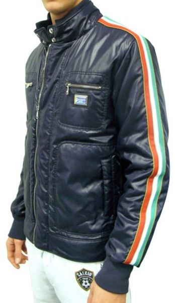 Dolce Amp Gabbana Italian Flag And Plaque Sport Jacket In