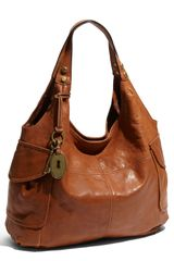 Fossil Modern Cargo Leather Shopper - Lyst