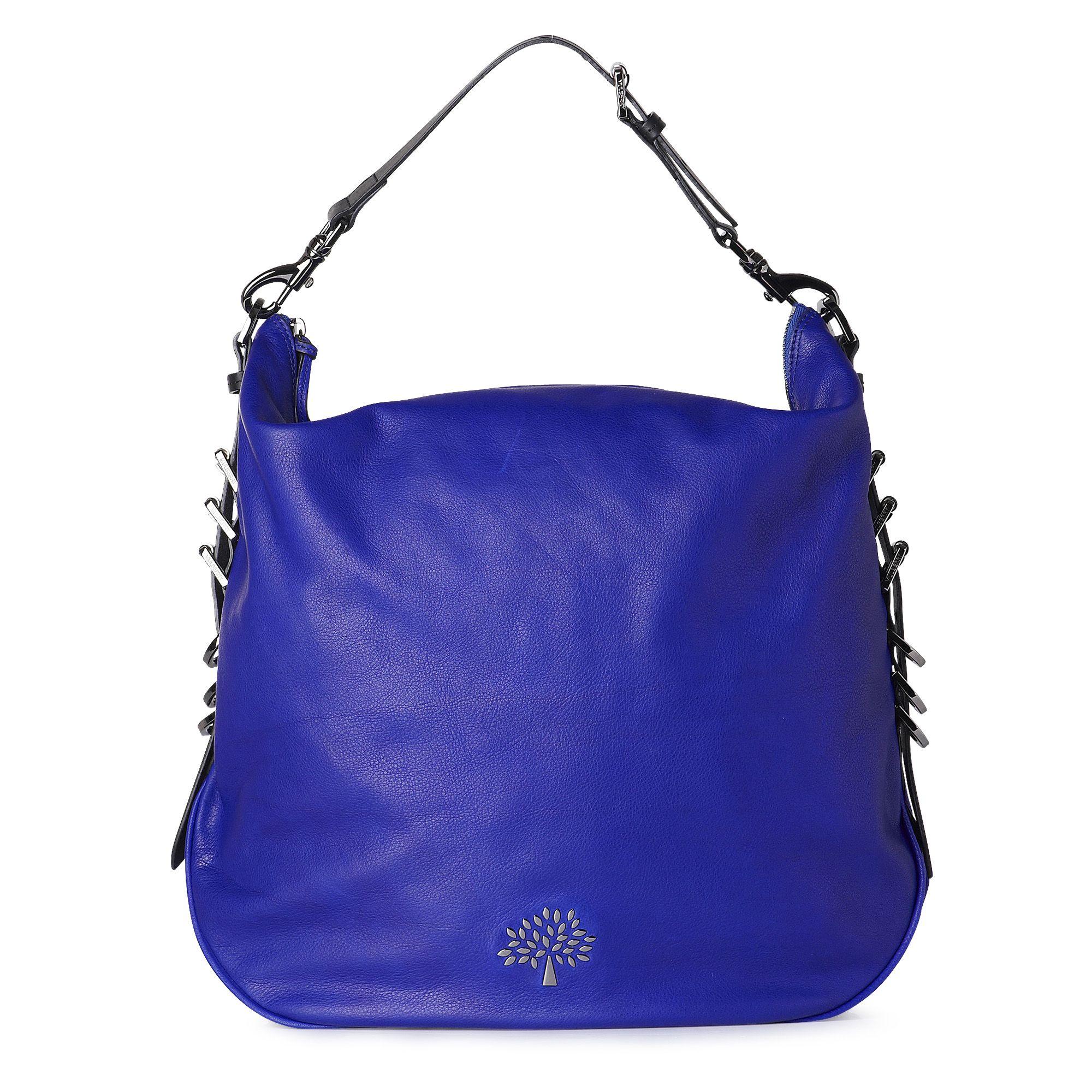Mulberry Mila Hobo Bag in Blue