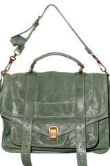 Proenza Schouler Ps1 Large Lambskin Shoulder Bag - Lyst