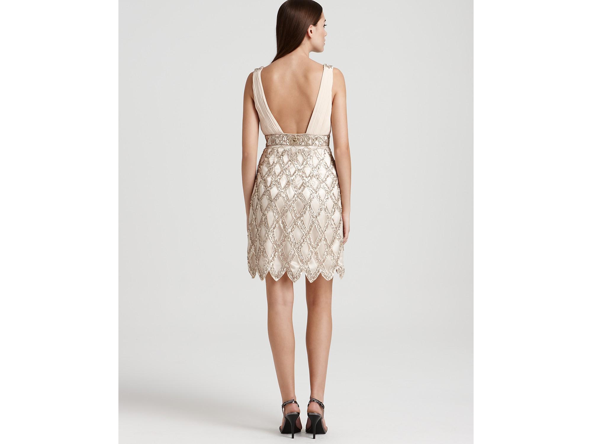 SUE Wong Embellished Flapper Dress Size 14 | eBay
