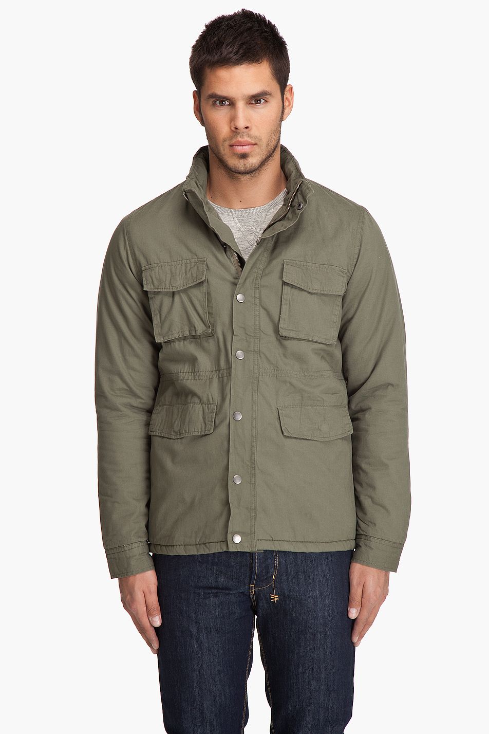 Cheap monday Liam Jacket in Green for Men | Lyst