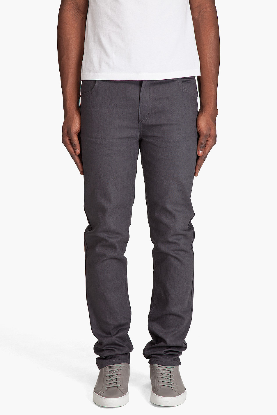 cheap monday premium tight jeans in gray for men grey lyst. Black Bedroom Furniture Sets. Home Design Ideas