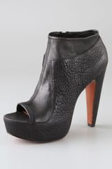 Elizabeth And James Break Platform Booties - Lyst