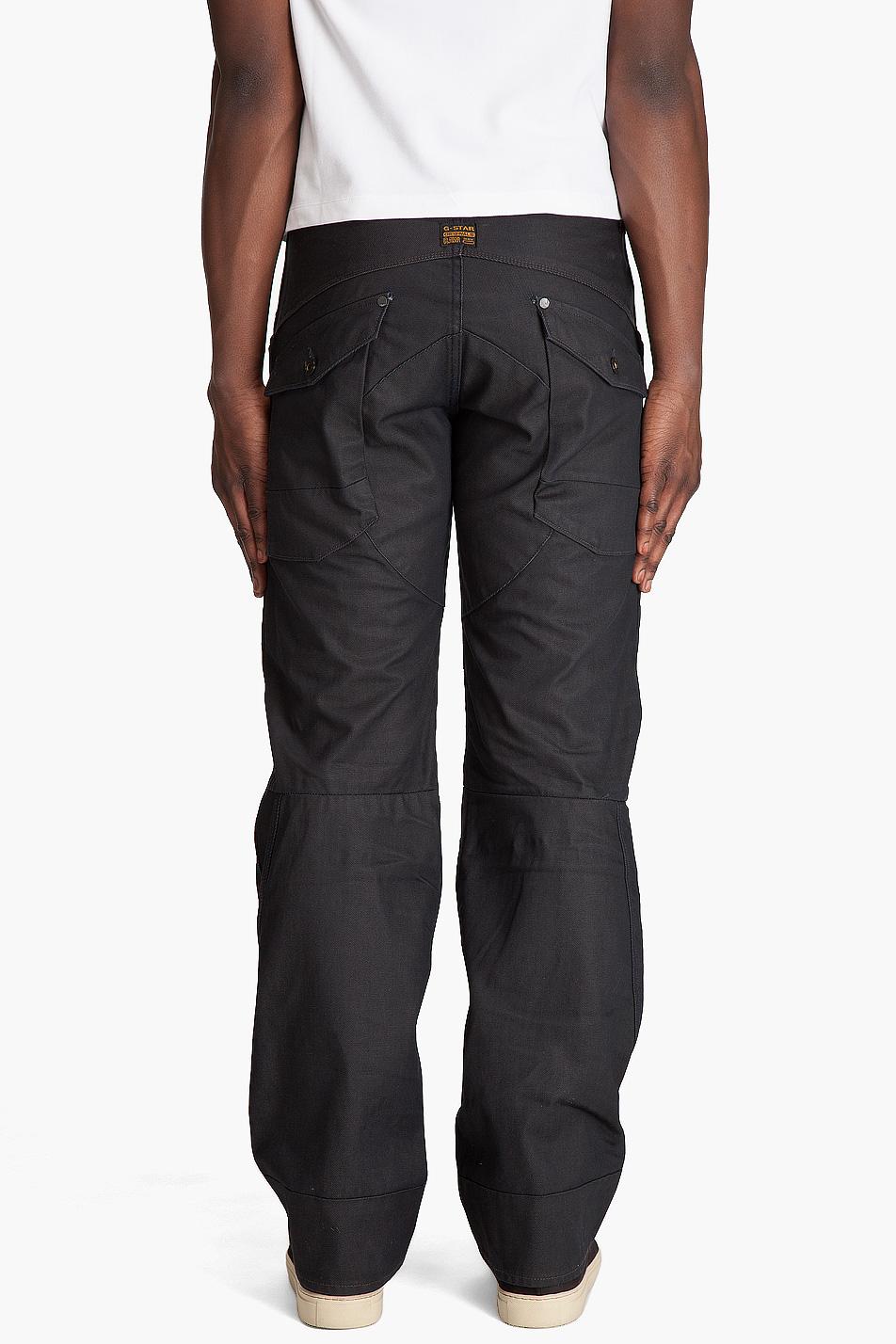 lyst g star raw scuba loose brace denim jeans in blue for men. Black Bedroom Furniture Sets. Home Design Ideas