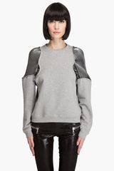 Hussein Chalayan Pleat Invasion Sweatshirt