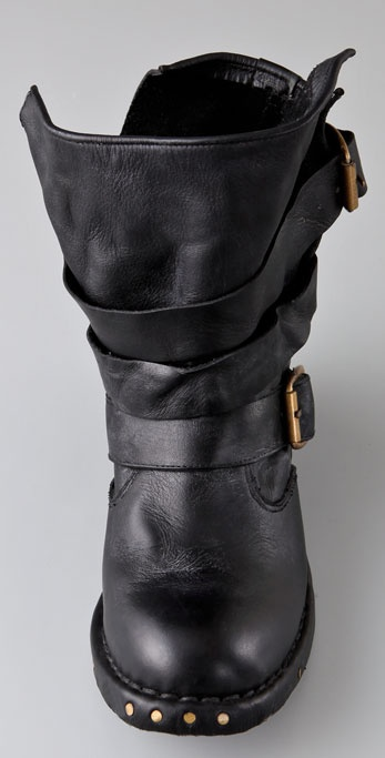 Jeffrey Campbell Brit Wrap Strap Booties In Black Lyst