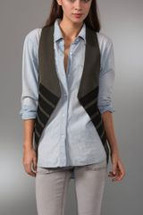 Elizabeth And James Marianne Military Vest - Lyst