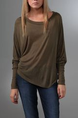 Lanston Long Sleeve Dolman Top - Lyst
