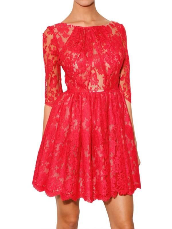 Erdem Anneli Printed Silk Dress in Pink | Lyst
