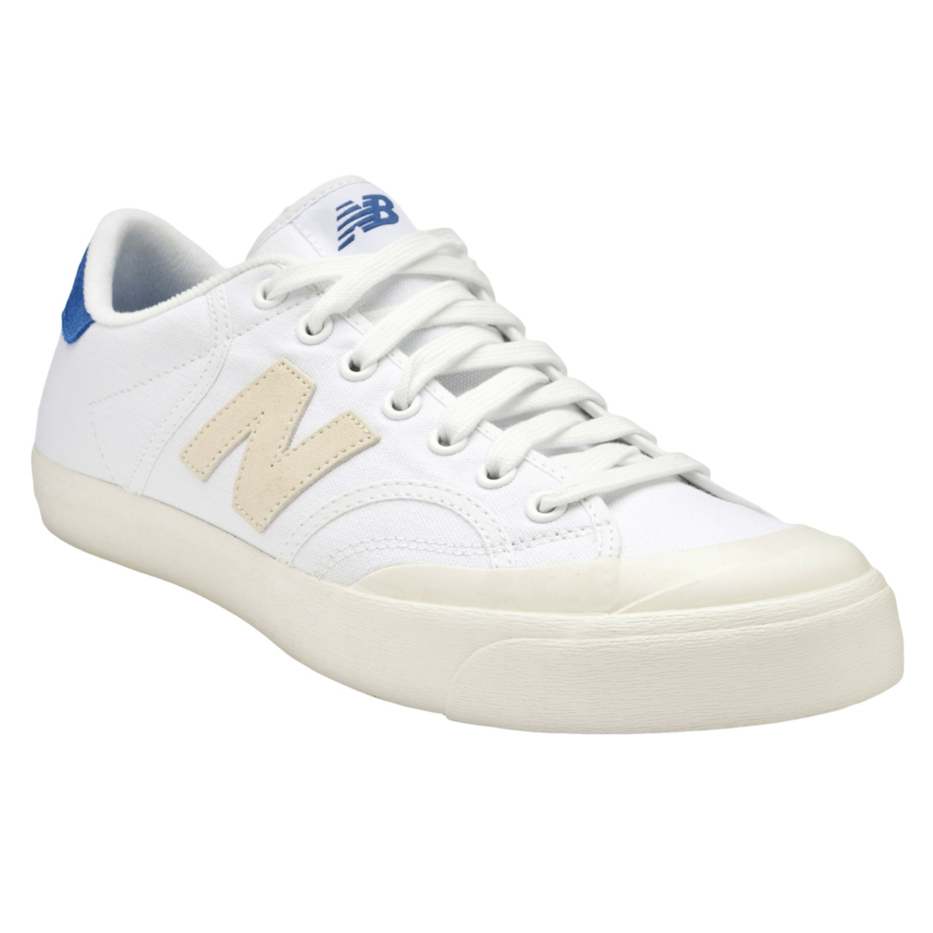 f3e0ebc4dd02 New Balance Pro-court Low Tops in White for Men - Lyst