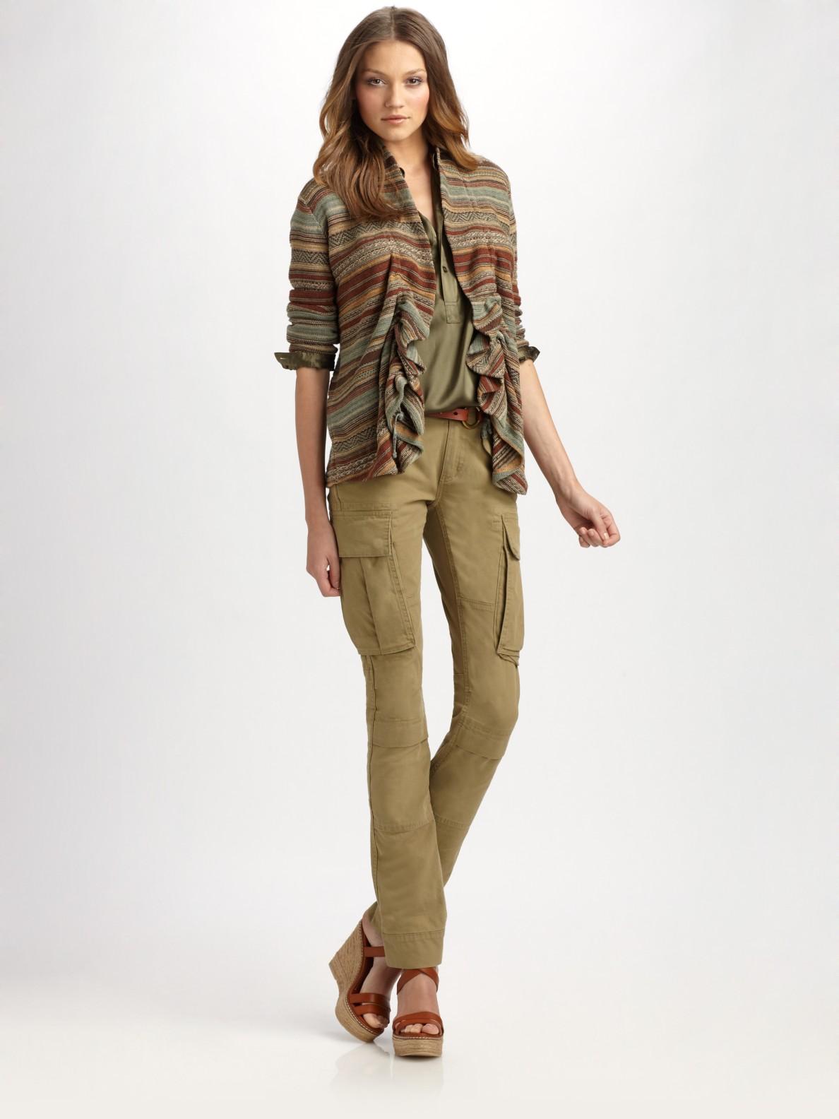 Creative Canada  Denim Amp Supply  Ralph Lauren Skinny Cargo Pants  Womens