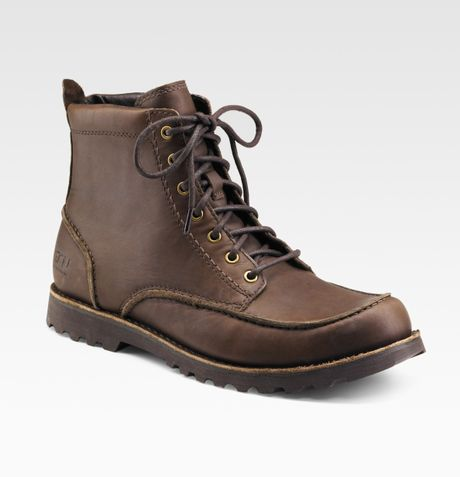 Ugg Fallbrook Ankle Boots In Brown For Men Broth Lyst