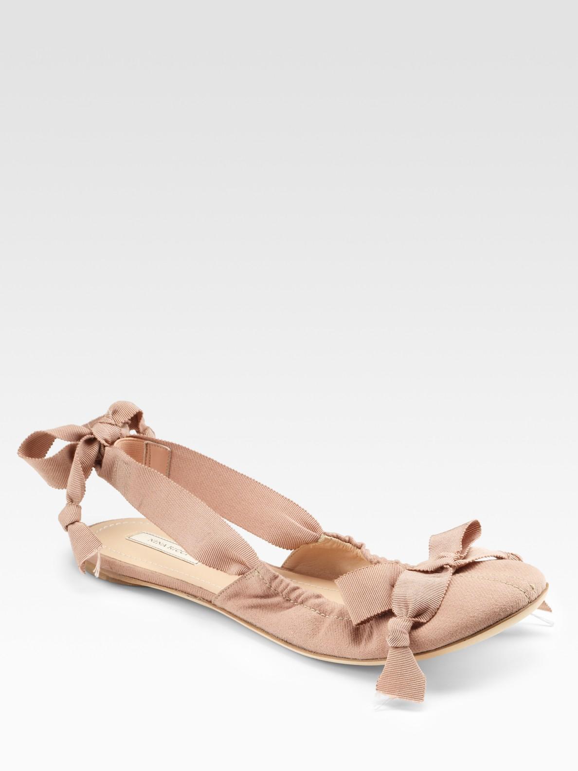 FOOTWEAR - Ballet flats Nina Ricci Ou5doR