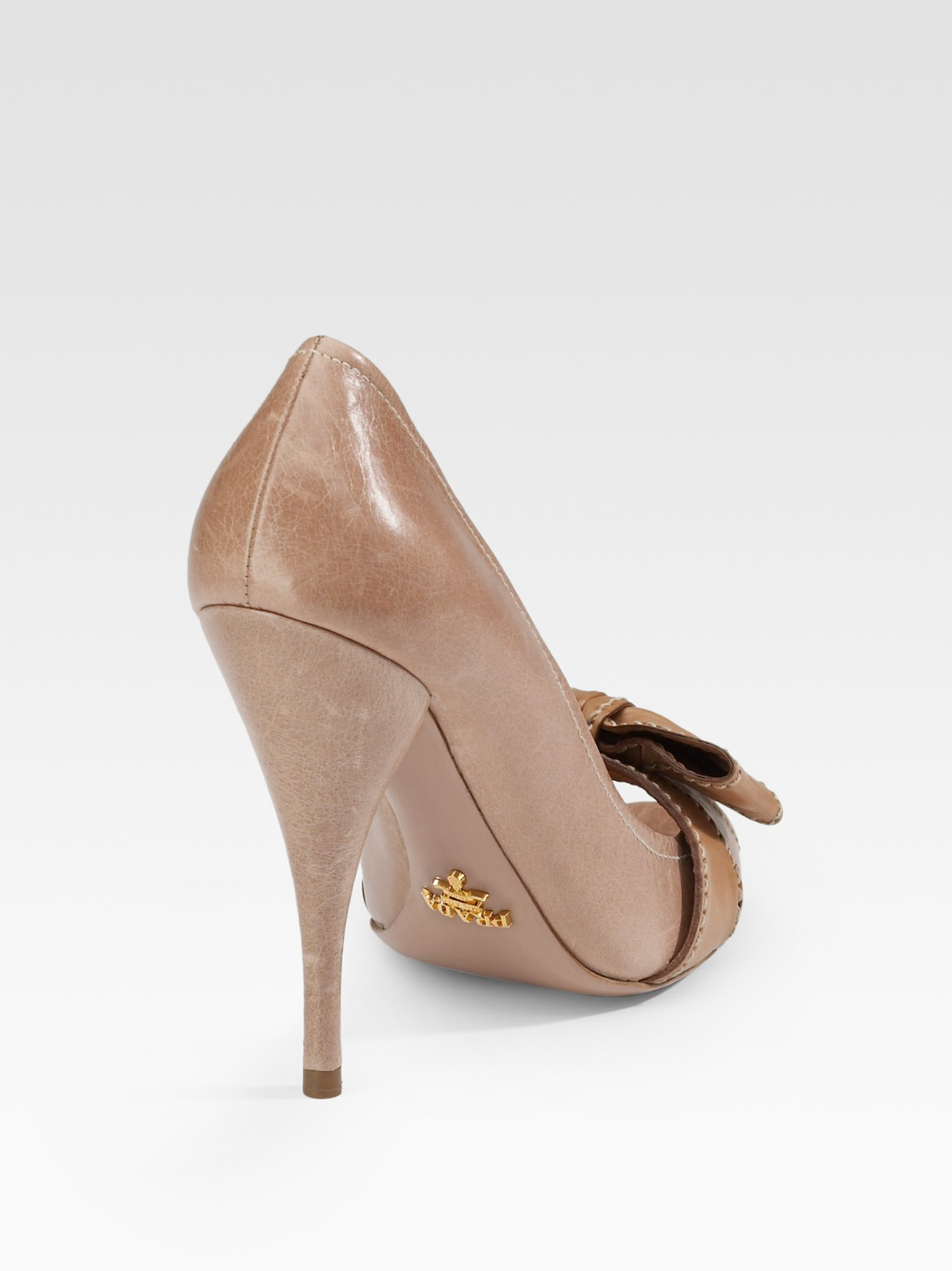 Lyst - Prada Bow Peep-... Ivanka Trump Shoes Nordstrom