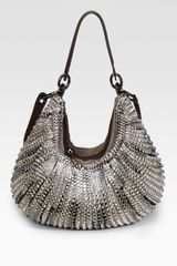 Diane Von Furstenberg Stephanie Braided Leather Hobo - Lyst