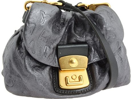 Marc By Marc Jacobs Dreamy Logo Cosmo in Gray (graphite)