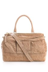 Givenchy Pandora Washed Leather Tote - Lyst