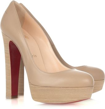Christian Louboutin Bibi 140 Leather Pumps - Lyst