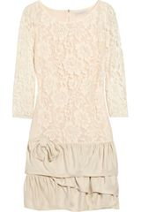 Sandro Reminence Lace Mini Dress - Lyst