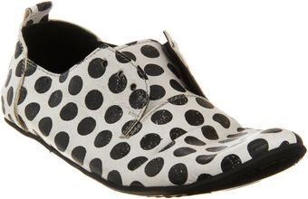 Marcèll Polka Dot Laceless Oxford - Lyst