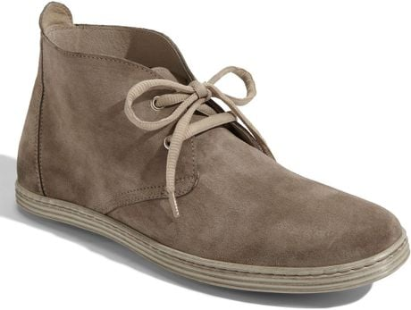 1901 Newport Suede Chukka Boot in Gray for Men (slate)