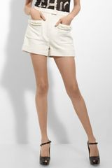 3.1 Phillip Lim Fringe Pocket Shorts - Lyst