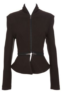 Haider Ackermann Zip Jacket with Peplum - Lyst