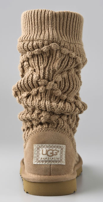 ugg classic argyle knit boots