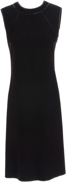 Bottega Veneta Silk Column Dress - Lyst