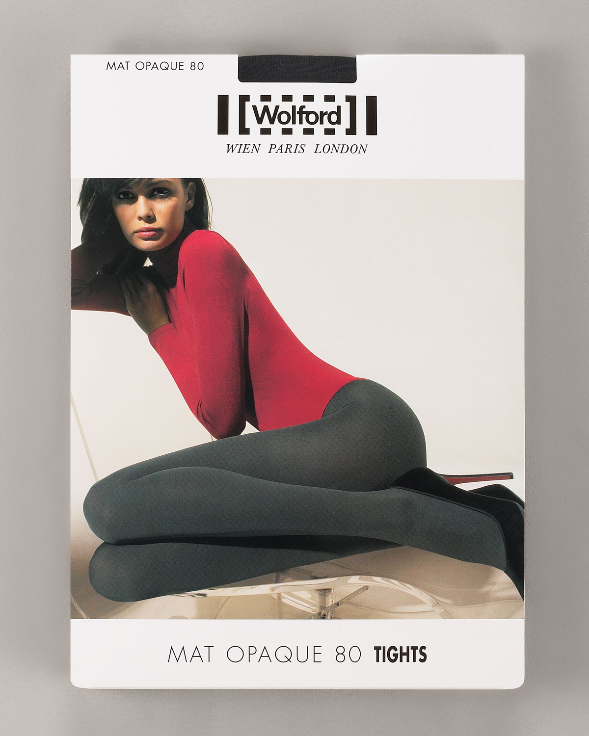 ea51f093d45 Wolford Matte Opaque 80 Tights in Black - Lyst