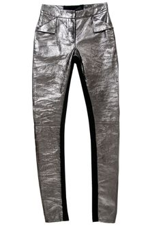 Gareth Pugh Metallic Leather Leggings - Lyst