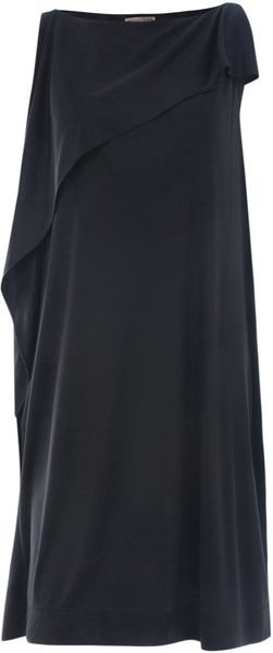 Bottega Veneta Silk Dress - Lyst