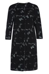 Giambattista Valli Laser Cut Out Suede Coat - Lyst