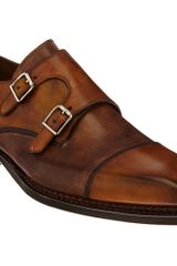 Harris Double Monk Shoe - Lyst