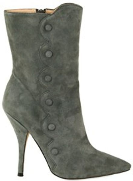 Betsey Johnson Wing It Boots in Gray (grey)