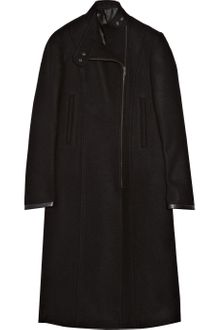 Clemens En August Wool-felt Biker Coat - Lyst