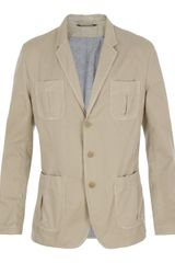 Dolce & Gabbana Cotton Safari Jacket - Lyst