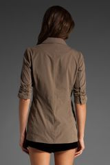 Elizabeth And James Triple Pocket James Jacket in Brown (truffle) - Lyst