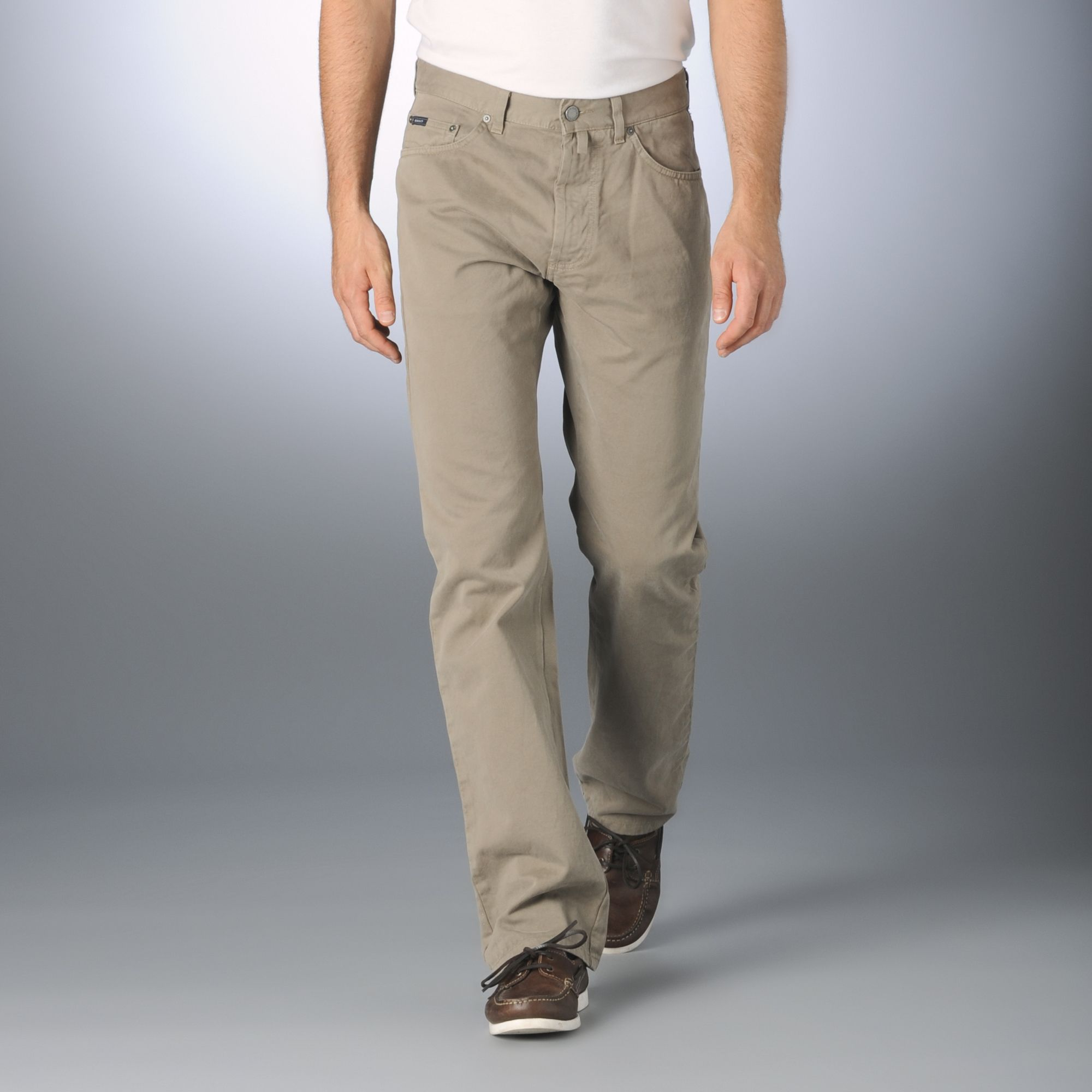 01bb5d7d3d GANT Desert Twill Jeans in Natural for Men - Lyst