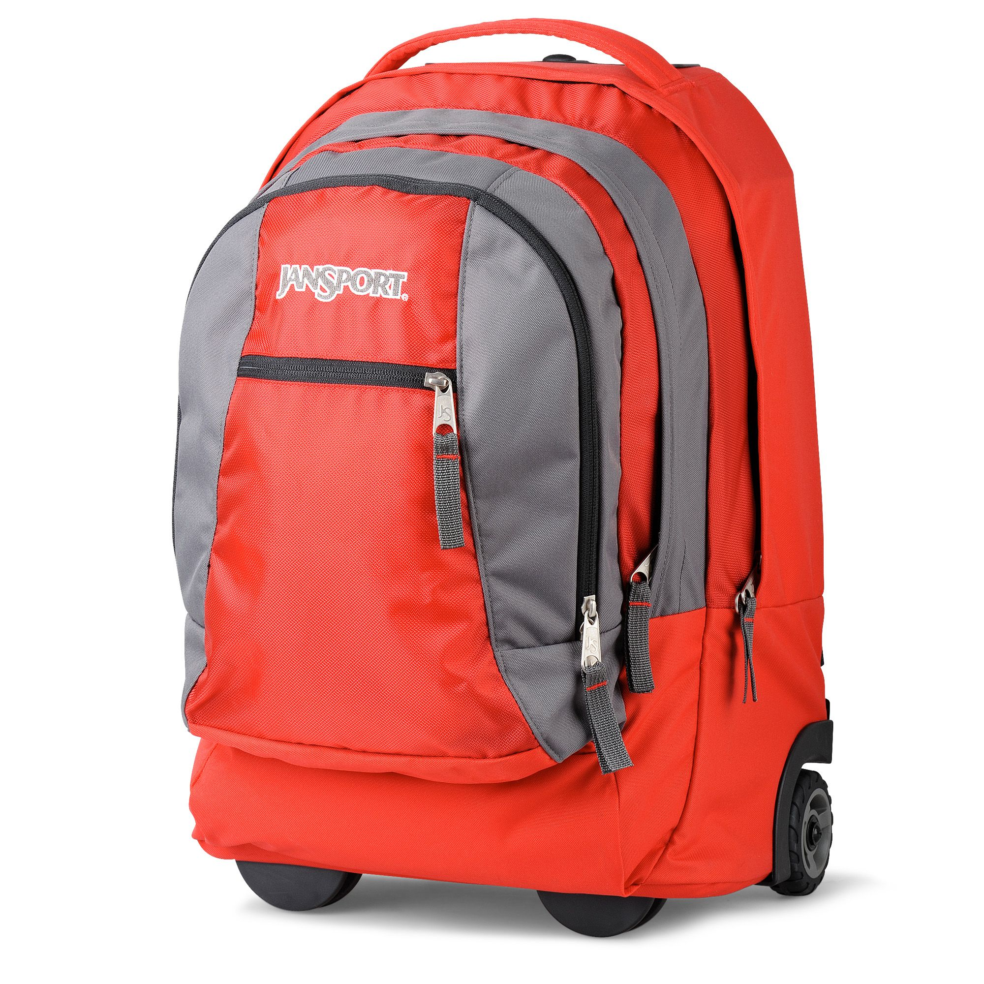 94f3f6dbc511b Jansport Driver 8 Wheeled Backpack in Red for Men