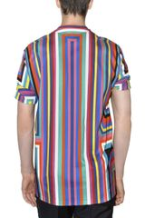Jil Sander Printed Jersey Tshirt in Multicolor for Men (multi) - Lyst