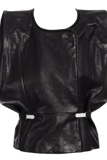 Maison Martin Margiela Structured Leather Gilet - Lyst