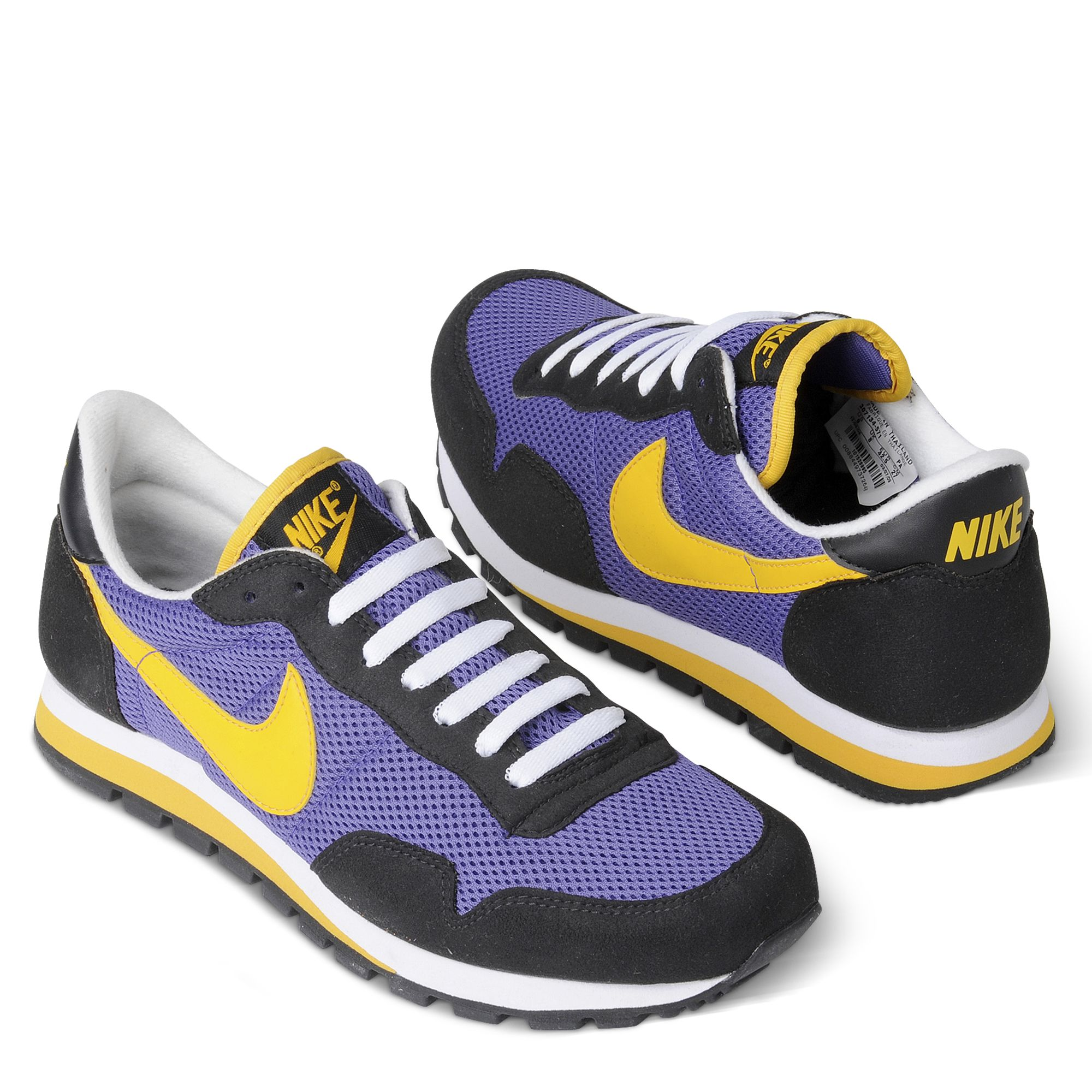 a5db5e33352b Nike Metro Plus Retro Running Shoes in Purple for Men - Lyst