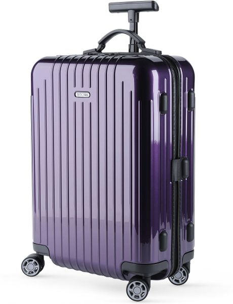 Rimowa Salsa Air Cabin Trolley 52cm In Purple For Men