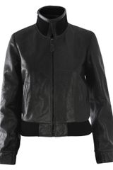 Balenciaga Perforated Leather Jacket - Lyst